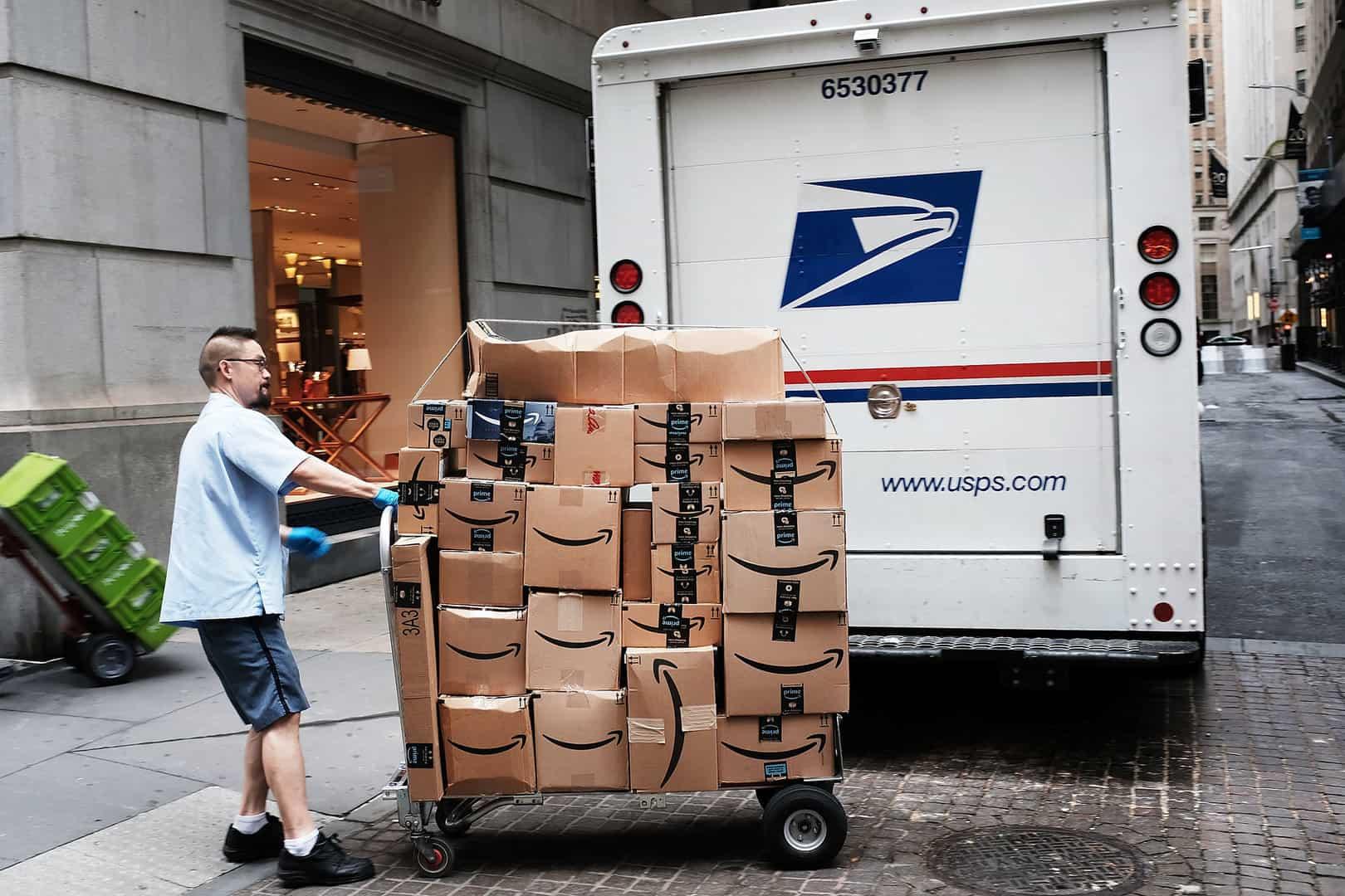 ارسال پستی کالا آمازون